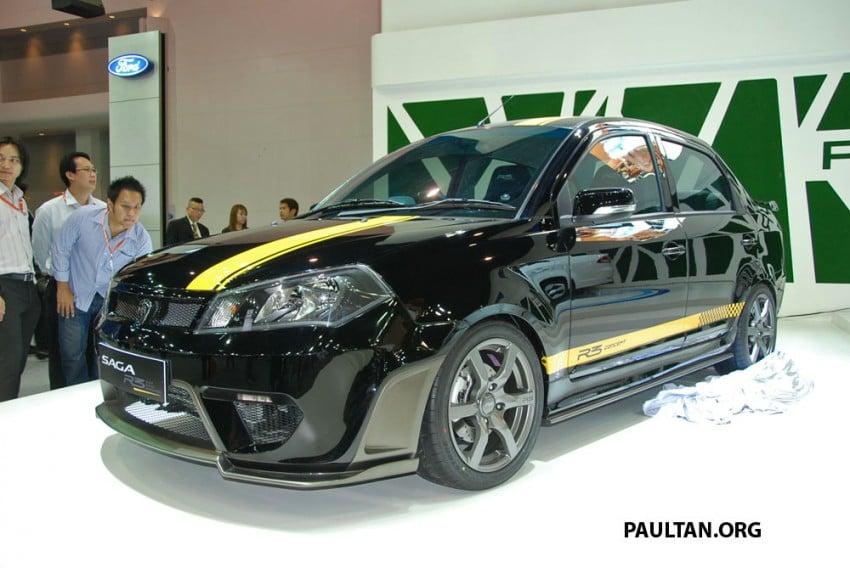 Proton Saga FLX R3 teased at Thai Motor Expo Image #166730