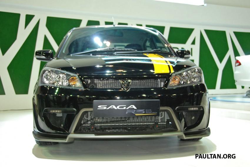Proton Saga FLX R3 teased at Thai Motor Expo Image #166731