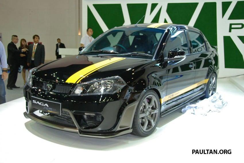Proton Saga FLX R3 teased at Thai Motor Expo Image #166733