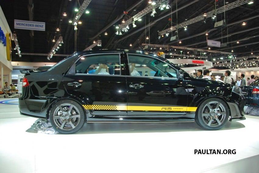 Proton Saga FLX R3 teased at Thai Motor Expo Image #166734