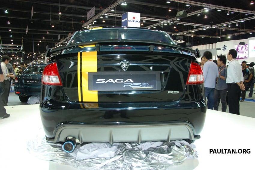 Proton Saga FLX R3 teased at Thai Motor Expo Image #166726