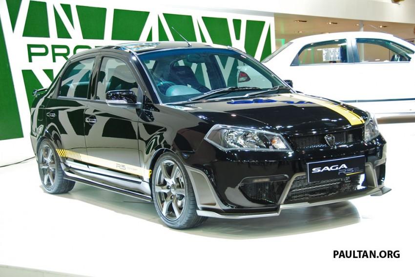 Proton Saga FLX R3 teased at Thai Motor Expo Image #166729