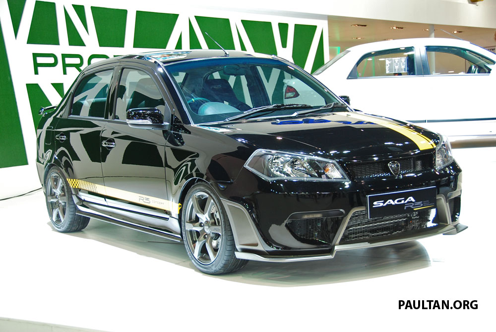 Proton Saga Flx R3 Teased At Thai Motor Expo Paul Tan