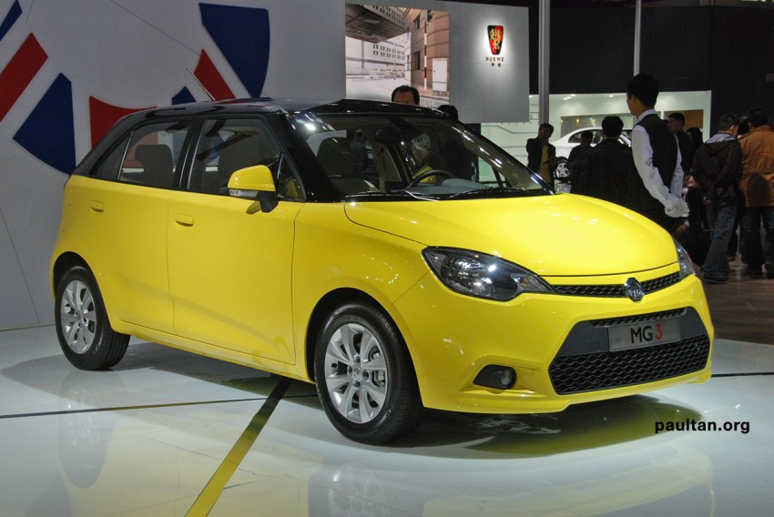 Auto Guangzhou: New MG3 is neatly styled inside and out Image #168263