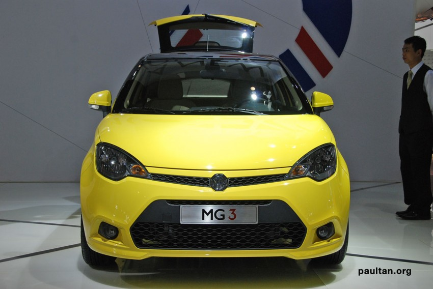 Auto Guangzhou: New MG3 is neatly styled inside and out Image #168253
