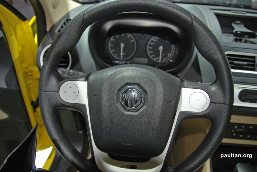 Auto Guangzhou: New MG3 is neatly styled inside and out Image #168256