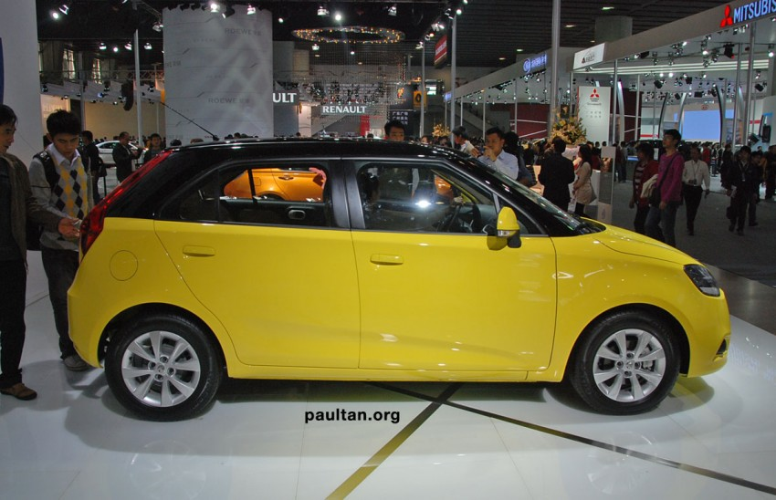 Auto Guangzhou: New MG3 is neatly styled inside and out Image #168258