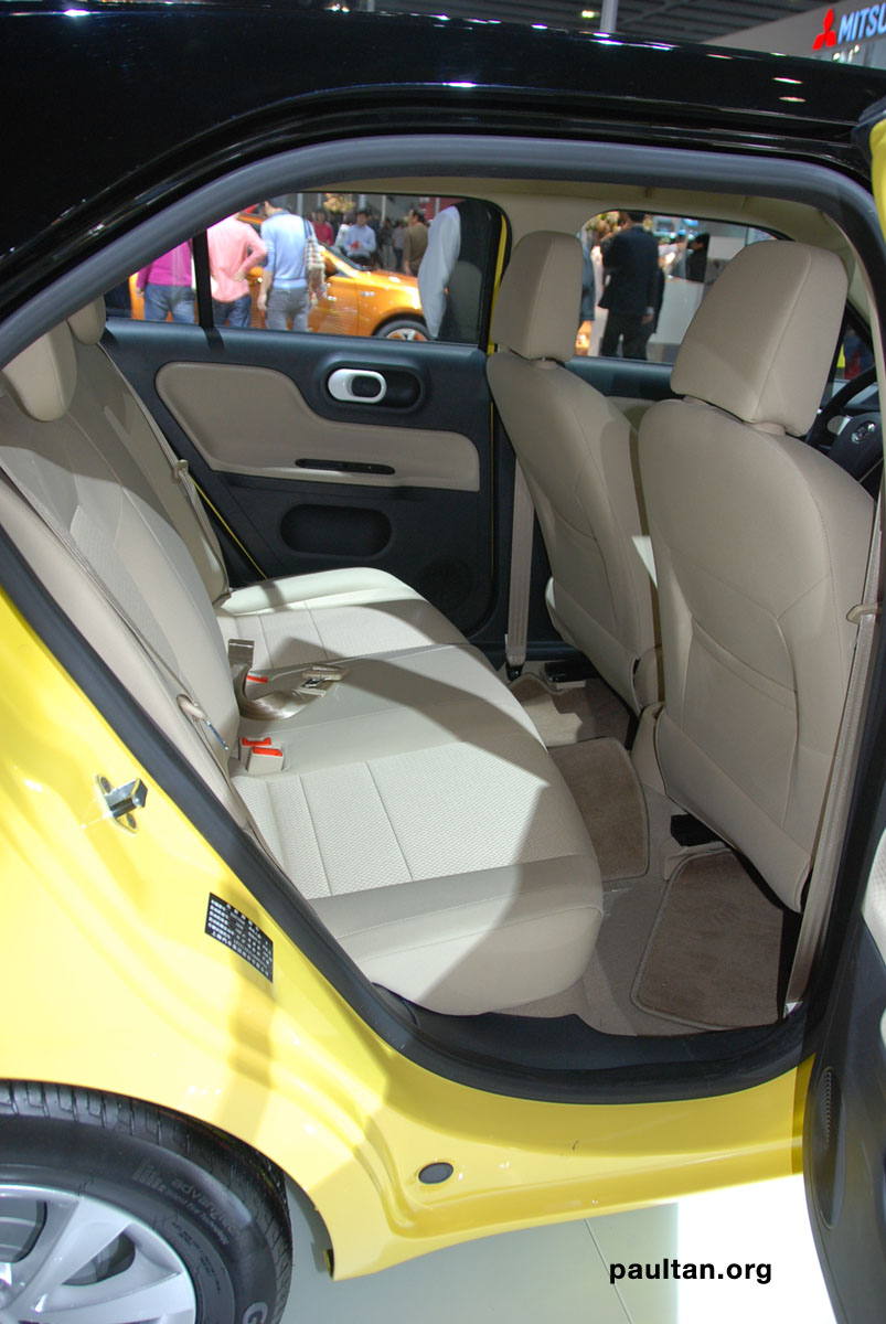 Auto Guangzhou: New MG3 is neatly styled inside and out Image #168259