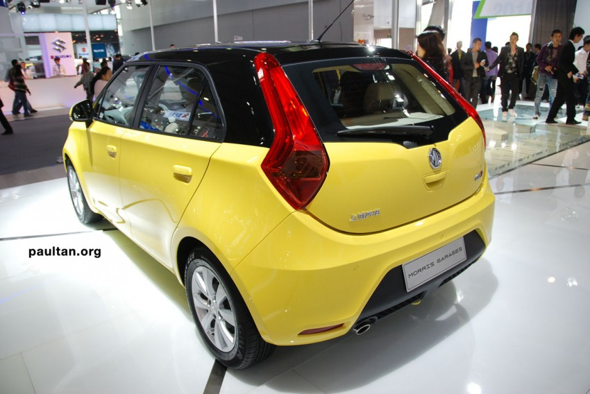 Auto Guangzhou: New MG3 is neatly styled inside and out Image #168262