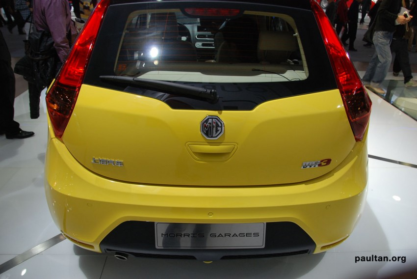 Auto Guangzhou: New MG3 is neatly styled inside and out Image #168248