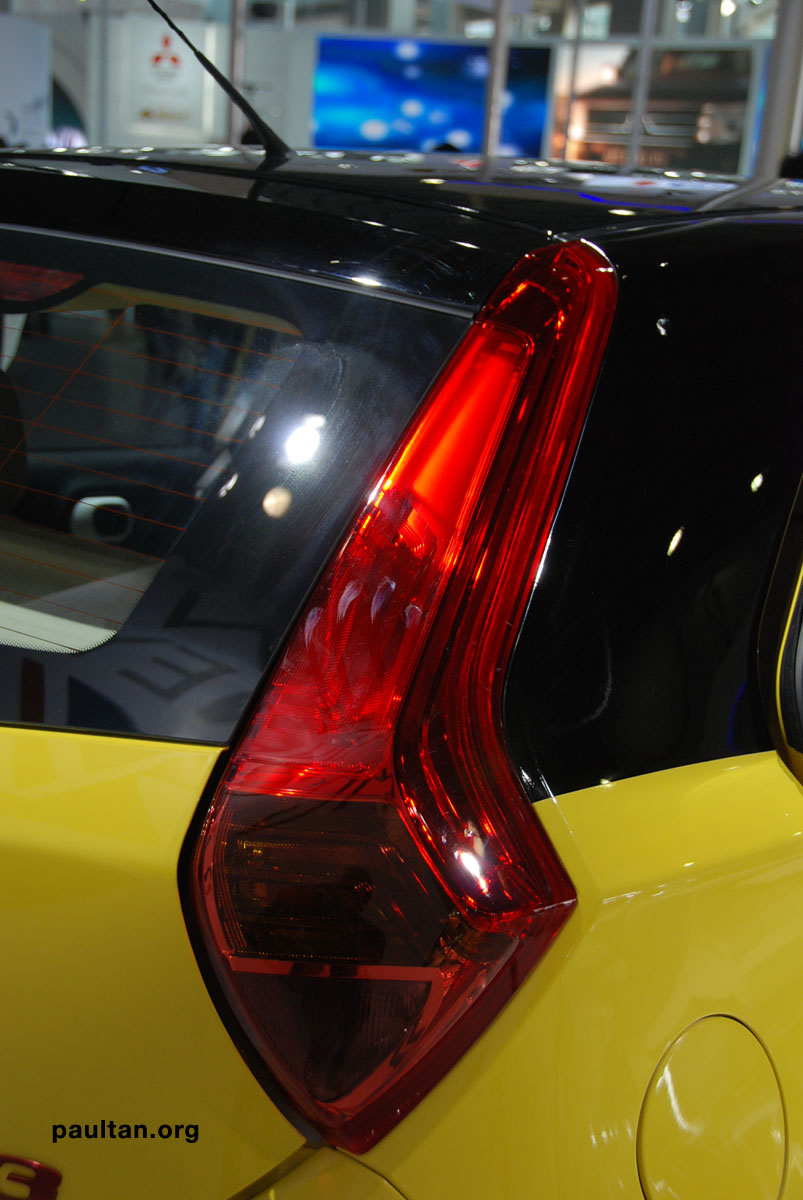 Auto Guangzhou: New MG3 is neatly styled inside and out Image #168249