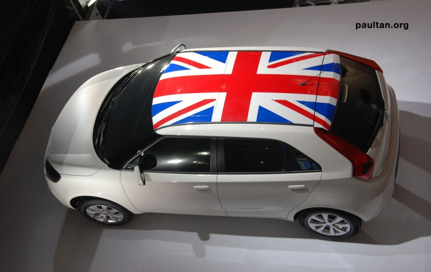 Auto Guangzhou: New MG3 is neatly styled inside and out Image #168251
