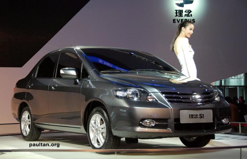 GALLERY: New Li Nian Everus S1 is the old Honda City Image #170385