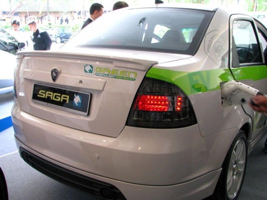 The UTM/Proton-developed Saga EV breaks cover Image #271023