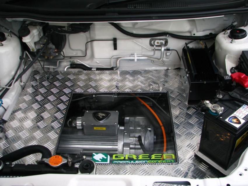 The UTM/Proton-developed Saga EV breaks cover Image #271020