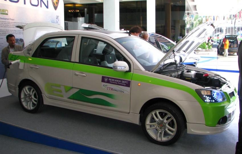 The UTM/Proton-developed Saga EV breaks cover Image #271015