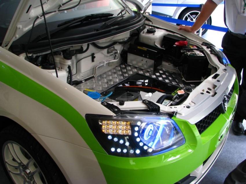 The UTM/Proton-developed Saga EV breaks cover Image #271013