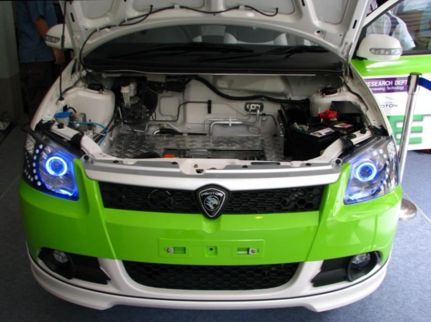 The UTM/Proton-developed Saga EV breaks cover Image #271006