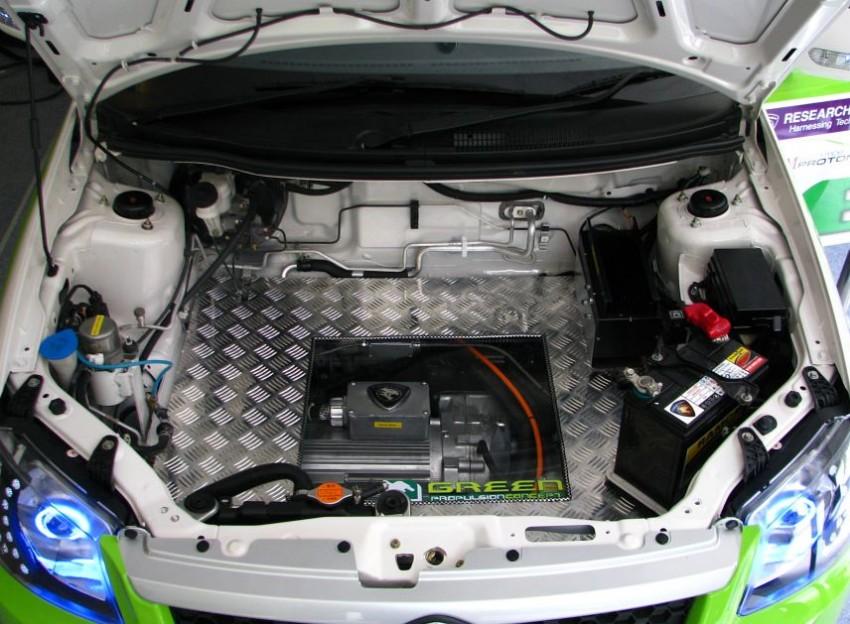 The UTM/Proton-developed Saga EV breaks cover Image #271007