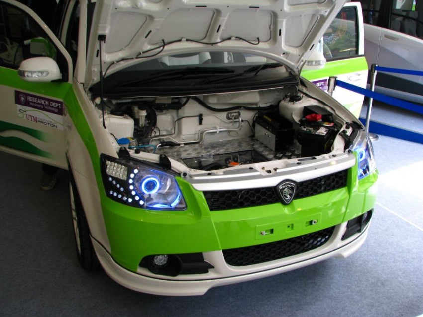 The UTM/Proton-developed Saga EV breaks cover Image #271001
