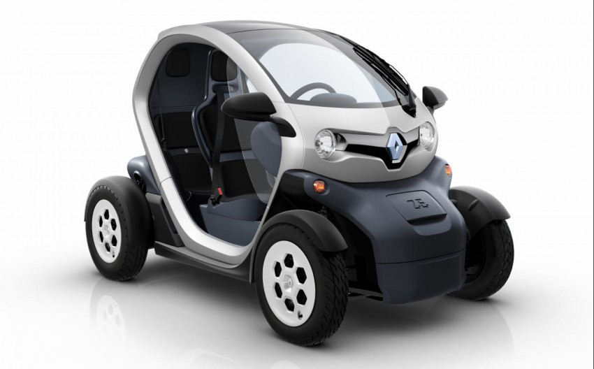 Renault Twizy – looking to bowl over the scooter crowd Image #246103