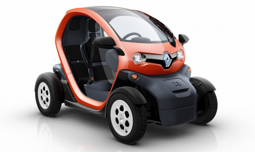 Renault Twizy – looking to bowl over the scooter crowd Image #246104