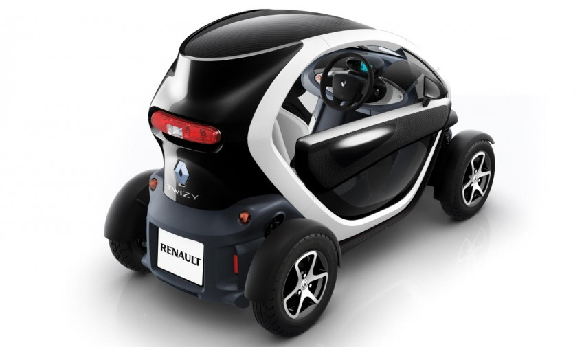Renault Twizy – looking to bowl over the scooter crowd Image #246105
