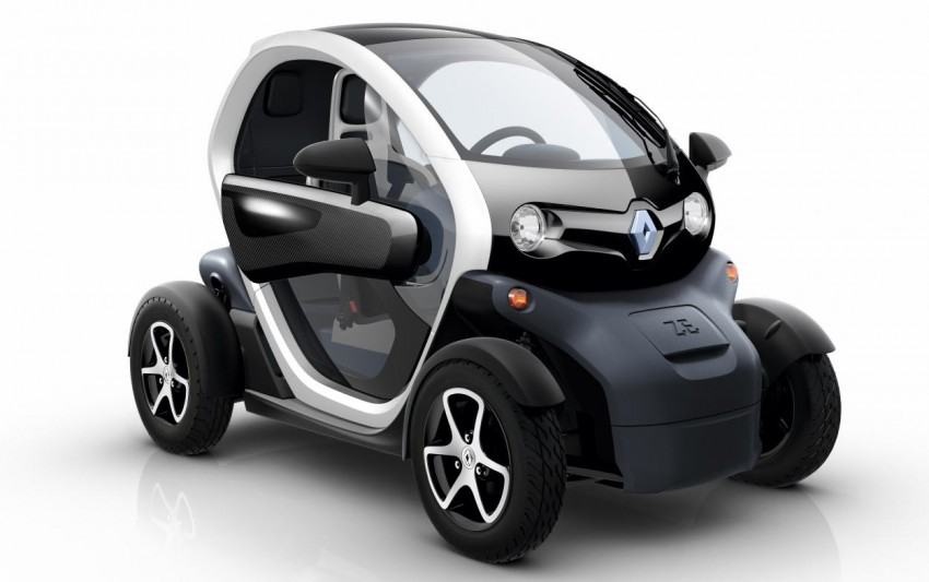 Renault Twizy – looking to bowl over the scooter crowd Image #246107