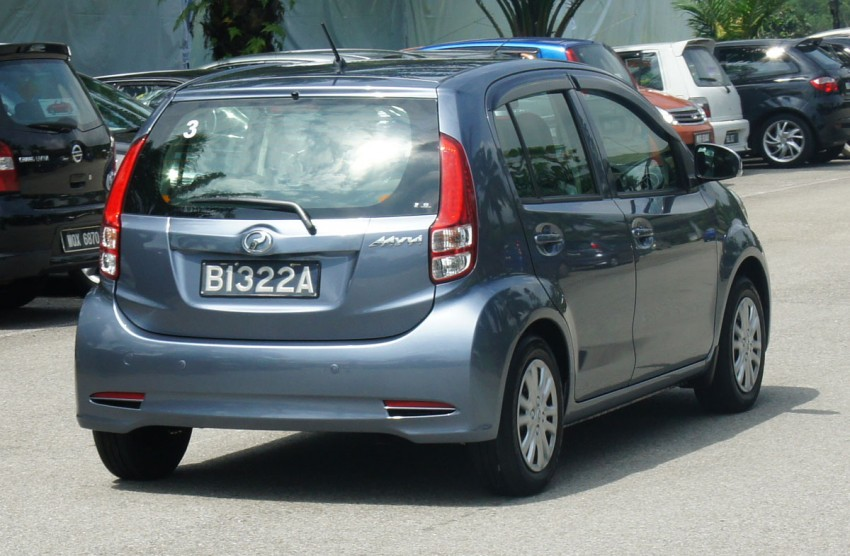 2011 Perodua Myvi – full details and first impressions Image #166956