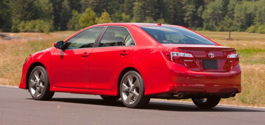 7th-gen US market 2012 Toyota Camry finally revealed Image #237843