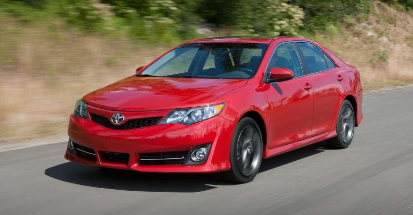 7th-gen US market 2012 Toyota Camry finally revealed Image #237842