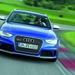 Audi RS 4 Avant/Fahraufnahme
