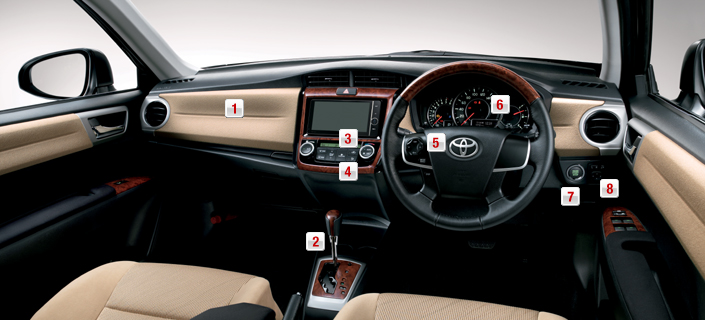2012 Toyota Corolla Axio launched in Japan – does it preview the next generation Corolla Altis interior? Image #107313