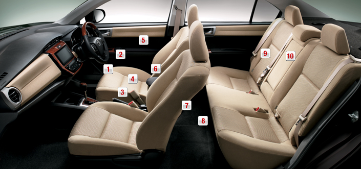 2012 Toyota Corolla Axio launched in Japan – does it preview the next generation Corolla Altis interior? Image #107314