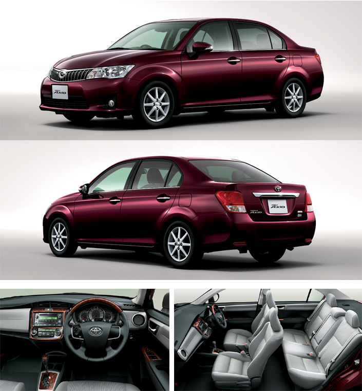 2012 Toyota Corolla Axio launched in Japan – does it preview the next generation Corolla Altis interior? Image #107334