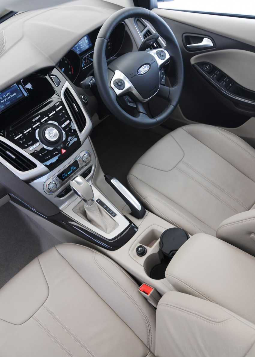 DRIVEN: New Ford Focus Hatch and Sedan in Krabi Image #119059
