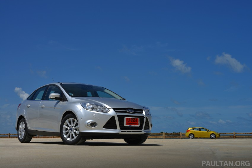 DRIVEN: New Ford Focus Hatch and Sedan in Krabi Image #118727