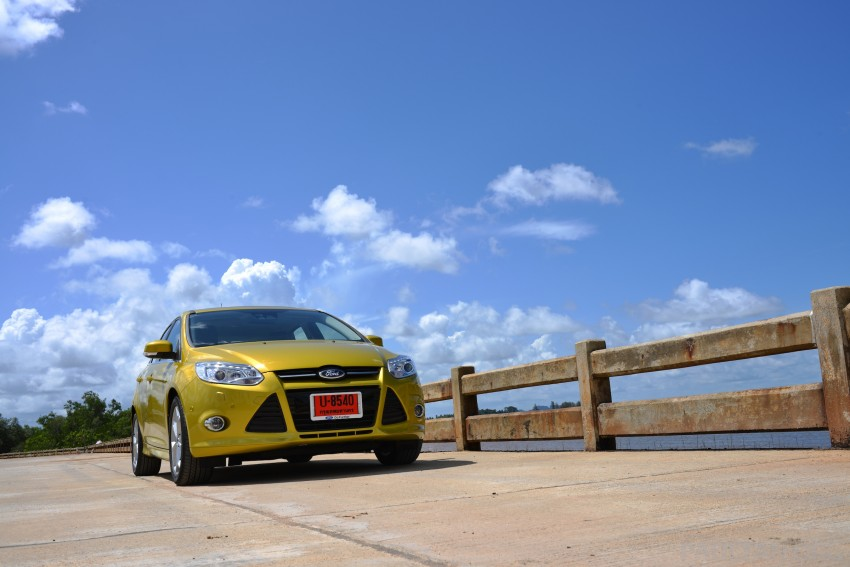 DRIVEN: New Ford Focus Hatch and Sedan in Krabi Image #118736