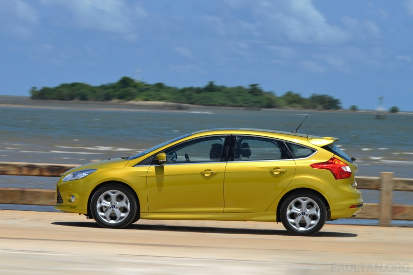 DRIVEN: New Ford Focus Hatch and Sedan in Krabi Image #118826