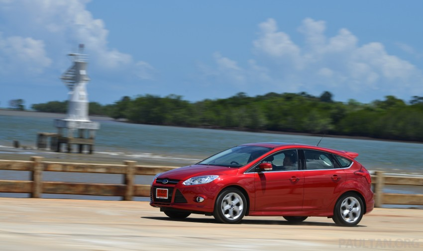 DRIVEN: New Ford Focus Hatch and Sedan in Krabi Image #118827