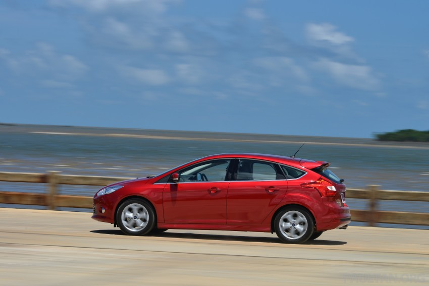 DRIVEN: New Ford Focus Hatch and Sedan in Krabi Image #118828