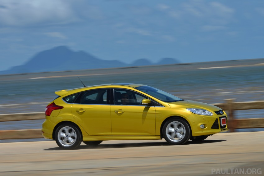 DRIVEN: New Ford Focus Hatch and Sedan in Krabi Image #118829