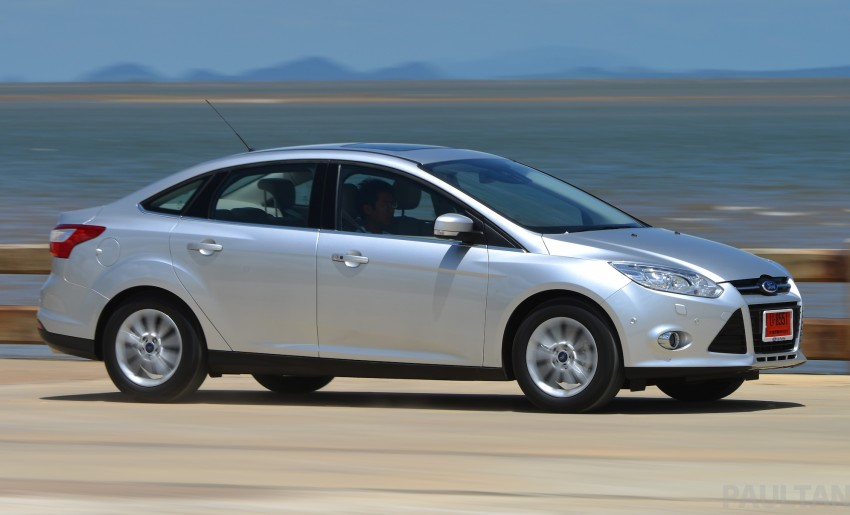 DRIVEN: New Ford Focus Hatch and Sedan in Krabi Image #118831