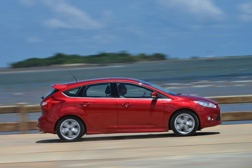 DRIVEN: New Ford Focus Hatch and Sedan in Krabi Image #118832