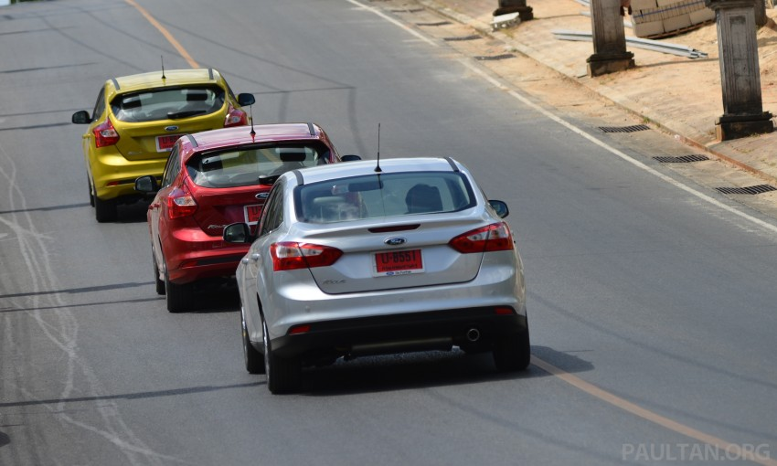 DRIVEN: New Ford Focus Hatch and Sedan in Krabi Image #118833