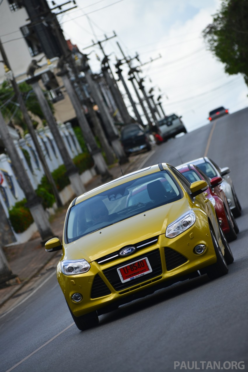 DRIVEN: New Ford Focus Hatch and Sedan in Krabi Image #118834