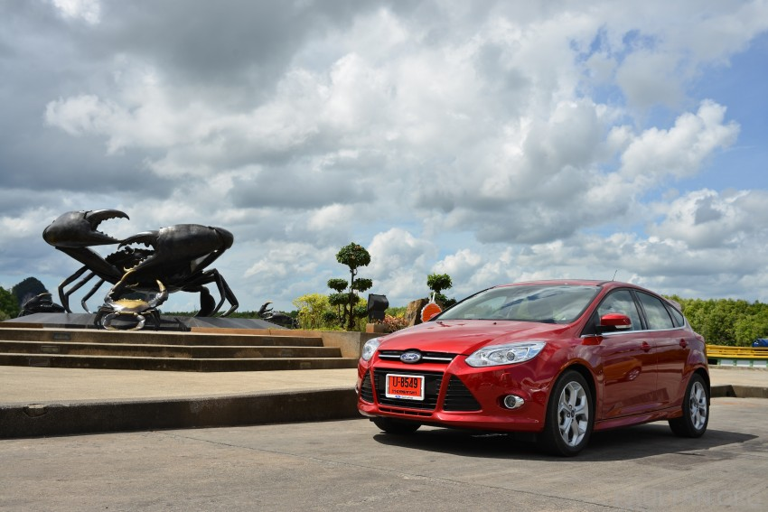 DRIVEN: New Ford Focus Hatch and Sedan in Krabi Image #118836