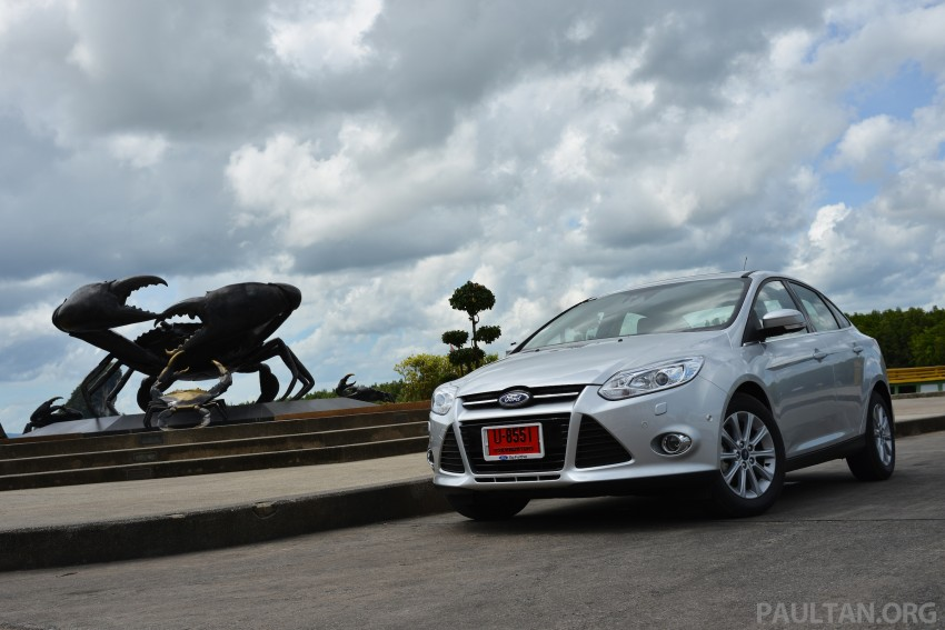 DRIVEN: New Ford Focus Hatch and Sedan in Krabi Image #118837