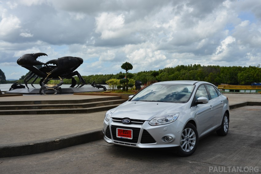 DRIVEN: New Ford Focus Hatch and Sedan in Krabi Image #118838