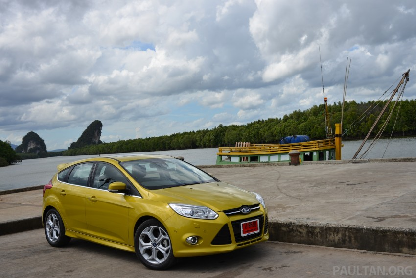 DRIVEN: New Ford Focus Hatch and Sedan in Krabi Image #118839